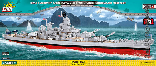 USS Iowa (BB-61) / Missouri (BB-63)