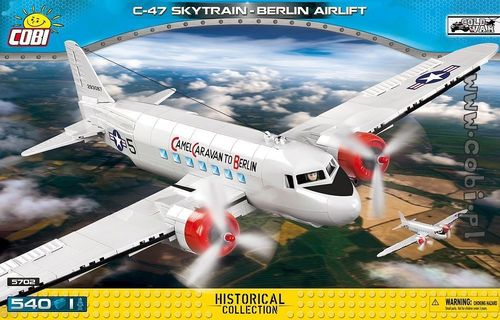 C-47 Skytrain Berlin Airlift, 540 pcs