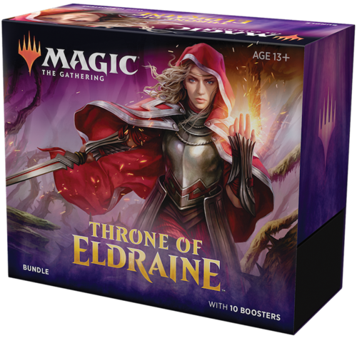 Throne of Eldraine Bundle med 10 Booster Pack