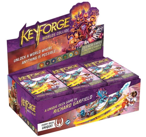 Keyforge: Worlds Collide Archon Deck Display 12 st