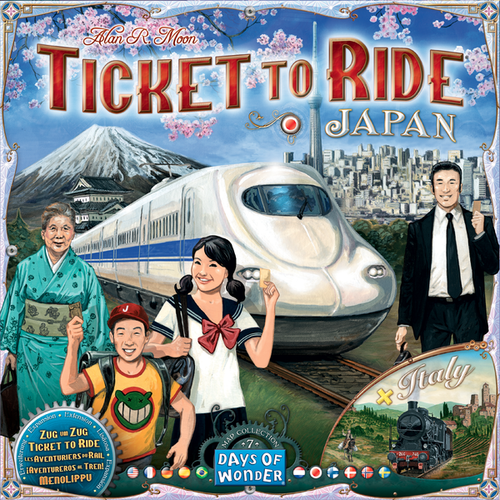 Ticket to Ride Map Collection: 7 Japan/Italy