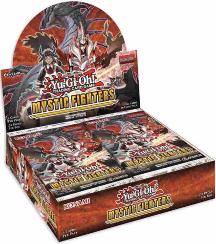 Mystic Fighters Booster Display