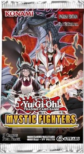 Mystic Fighters Booster Pack med 5 kort