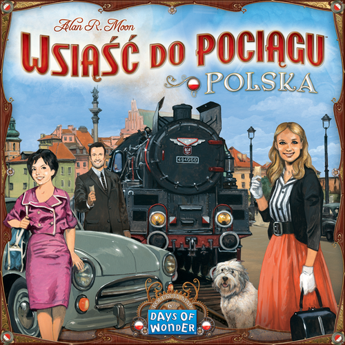 Ticket to Ride Map Collection: 6.5 Polska - Polish