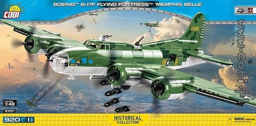 Boeing B-17F Flying Fortress Memphis Belle 920 pcs