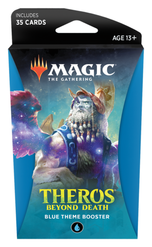 Theros Beyond Death Theme Booster Pack - Blue