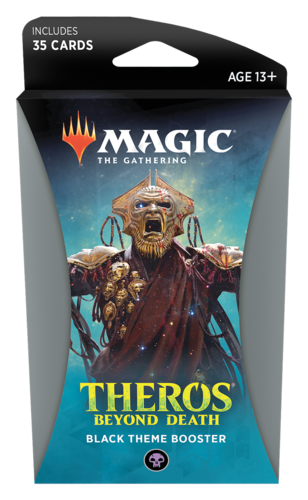 Theros Beyond Death Theme Booster Pack - Black