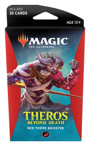 Theros Beyond Death Theme Booster Pack - Red