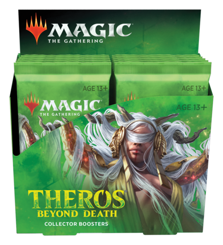 Theros Beyond Death Collector Booster Display