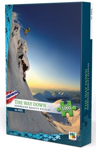 The Way Down, Norge - 1000 bitar