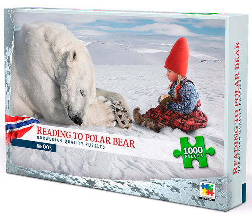 Reading to Polar Bear, Norge - 1000 bitar