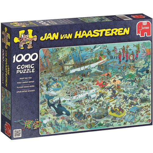 Jan van Haasteren - Deep Sea Fun - 1000 bitar
