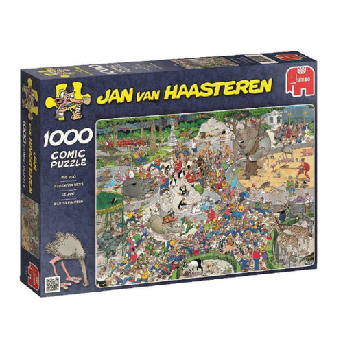 Jan van Haasteren - The Zoo - 1000 bitar
