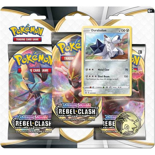 Rebel Clash - Blister 3-pack - Duraludon