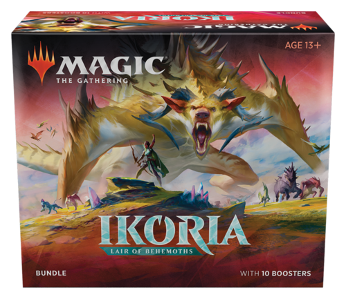 Ikoria Lair of Behemoths Bundle med 10 Boosters
