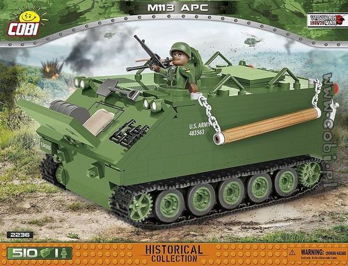 M113 APC - Armored Personnel Carrier, 510 blocks