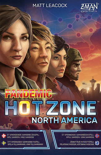 Pandemic: Hot Zone – North America (nordic)
