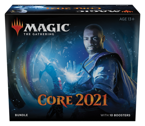 Core Set 2021 Bundle med 10 Booster Pack