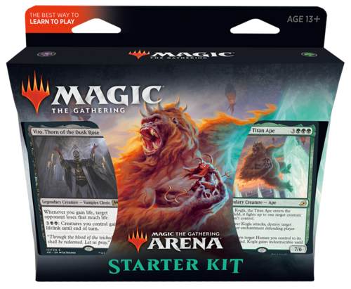 Core Set 2021 Arena Starter Kit,  2x60 decks