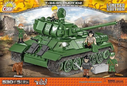 T-34/85 Rudy 102 Limited Edition, 530 pcs
