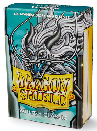 Dragon Shield 60 st Japanese Classic: White