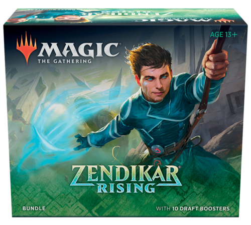 Zendikar Rising Bundle med 10 Boosters
