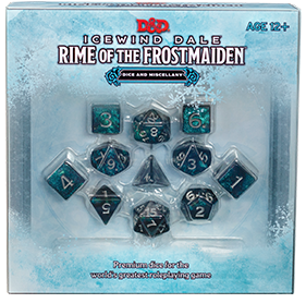 D&D Icewind Dale - Rime of the Frostmaiden Dice