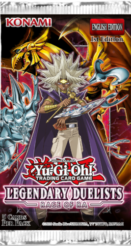 Legendary Duelists: Rage of Ra (unlimited) Booster Pack