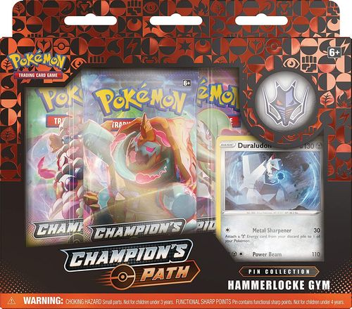 Champion's Path - Hammerlocke Gym Pin Collection