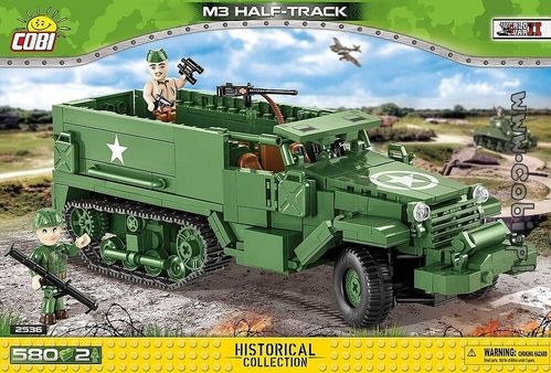 M3 Half - Track Armored Personal Carrier  - 580 pcs