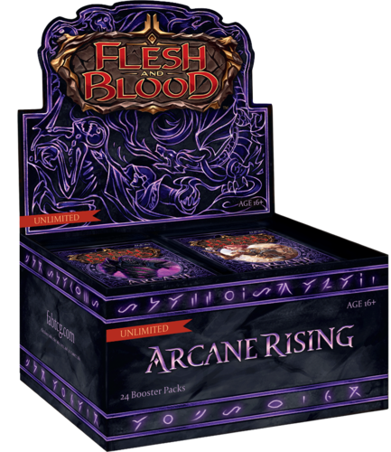 Arcane Rising Booster display (unlimited)