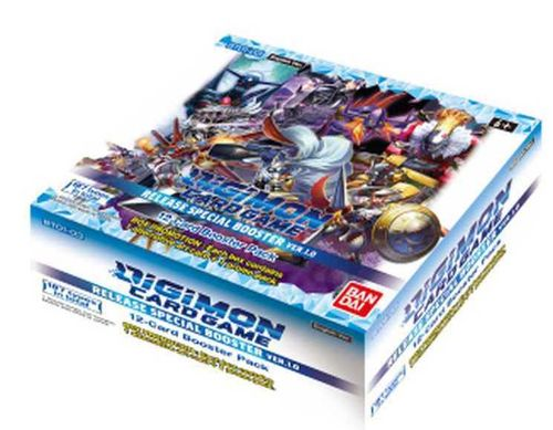 Digimon CG: Release Special Booster Ver.1.0 BT01-03 Display
