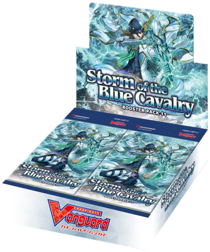 Booster Pack Vol. 11: Storm of the Blue Cavalry Display