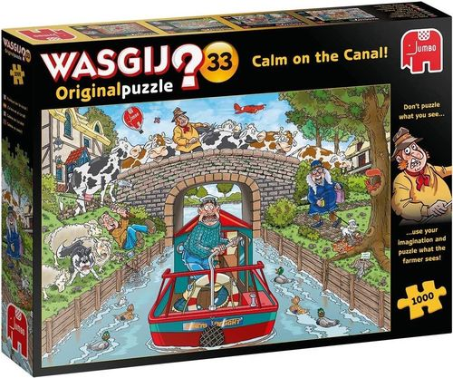 WASGIJ Original: 33 Calm on the Canal! - 1000 pcs