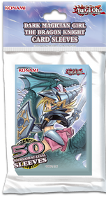 Dark Magician Girl the Dragon Knight Card Sleeves 50 st